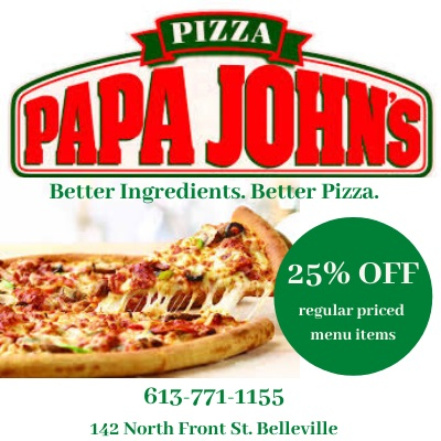 Papa Johns Pizza Member Offer- 25% off