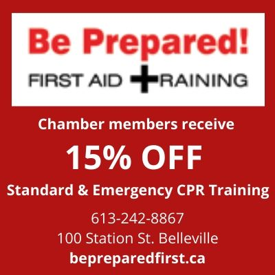 Be Prepared First Aid Traning - 15% off