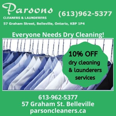 Parsons Cleaners Member offer - 10% OFF