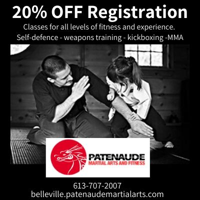 Patenaude Martial Arts - 20% OFF Registration