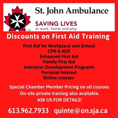 St. John Ambulance - Discount on training