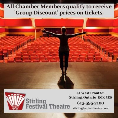 Stirling Festival Theatre - Group Discounts available to members